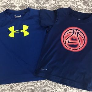 Nike and Under Armour Shirt bundle